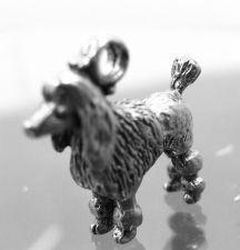 Buy Vintage Charm : Silver Show Cut Poodle