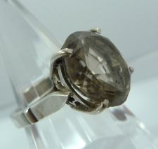 Buy sz 6 Sterling 925 Silver Ring Pale Champagne colored Citrine marked S SIL