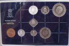 Buy Gem Unc Netherlands Antillies 1985 8 Piece Mint Set~24,000 Minted~Free Shipping