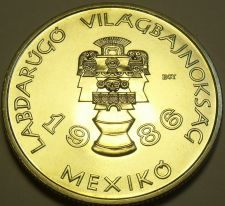 Buy Rare Gem Unc Hungary 1985 100 Forint~Mexican Artifacts~World Cup~30K Minted~Fr/S