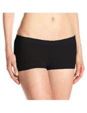 Buy A0474 2-Pairs Rampage NEW Women's Seamless Body Smooth Lace Leg Opening Boyshort