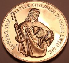 Buy THE GOOD SHEPHERD LUTHERAN HOME BRONZE PROOF~FREE SHIP~