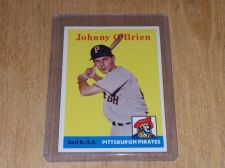 Buy VINTAGE JOHNNY O'BRIAN PIRATES 1959 TOPPS #426 GD-VG