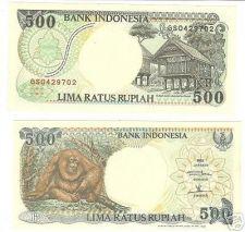 Buy INDONESIA GEM UNC 500 RUPIAH~ORANGUTAN~JUNGLE~AWESOME~FREE SHIPPING~