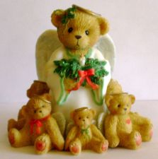 Buy Cherished Teddies Caroline Winter Angels Figurine