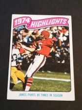 Buy VINTAGE FALCONS 1974 HIGHLIGHTS TOPPS FOOTBALL GD-VG