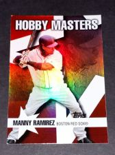 Buy MLB MANNY RAMIREZ RED SOX 2007 TOPPS HOBBY MASTERS INSERT #HM17 GD-VG