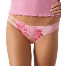 Buy A0160 OnGossamer NEW 21303 Signature Hip-G Watercolor Low Rise G-String Thong PR