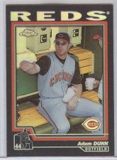 Buy MLB 2003 TOPPS CHROME BLACK REFRACTOR ADAM DUNN MNT