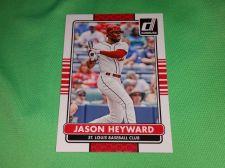 Buy MLB JASON HAYWARD CARDINALS SUPERSTAR 2015 DONRUSS BASEBALL GEM MNT