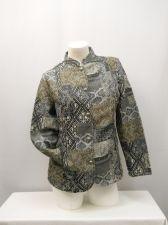 Buy SIZE S Womens Milano Tapestry Jacket TUDOR COURT Long Sleeve Career Pockets
