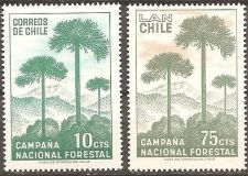 Buy Chile: Reforestation Campaign (1967), MNH, Complete Set