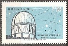 Buy Chile: Mount El Tololo Observatory (1971), MNH Single