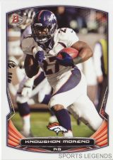 Buy 2014 Bowman #75 Knowshon Moreno