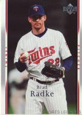 Buy 2007 Upper Deck #160 Brad Radke