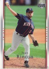 Buy 2007 Upper Deck #162 Juan Rincon