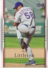 Buy 2007 Upper Deck #232 Wes Littleton