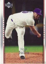 Buy 2007 Upper Deck #258 Jorge Julio