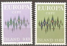 Buy Iceland: Europa/CEPT (1972), MNH, Complete Set