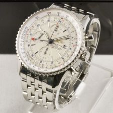 Buy Breitling Navitimer World Chronograph Mens Watch A2432212/G571