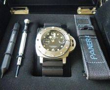 Buy Panerai 44mm Submersible Luminor 1950 PAM243 Men`s Watch
