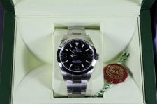 Buy Rolex Explorer 1 Black Dial Mens watch 214270