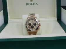 Buy Rolex Daytona 18k Rose Gold Black Dial Men`s watch 116505