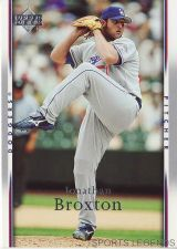 Buy 2007 Upper Deck #358 Jonathan Broxton