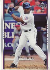 Buy 2007 Upper Deck #375 Julio Franco