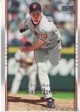 Buy 2007 Upper Deck #442 Jonathan Sanchez
