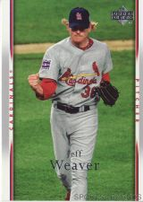 Buy 2007 Upper Deck #454 Jeff Weaver