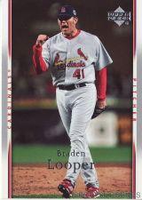 Buy 2007 Upper Deck #456 Braden Looper