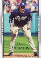 Buy 2007 Upper Deck #497 Adrian Gonzalez