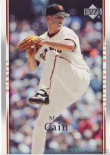 Buy 2007 Upper Deck #498 Matt Cain
