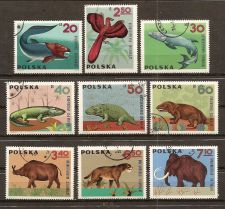 Buy Poland: Dinosaurs (1966), Canceled, complete set