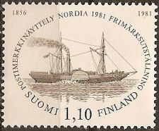 Buy Finland: Nordia '81 Stamp Exhibition (1981), MNH Single