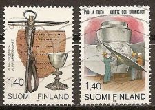 Buy Finland: Scott No. 691-692 (1984), Used Complete Set