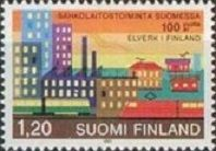 Buy Finland: Elect. Power Plant Centennial (1982), MNH Single