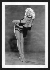 Buy BLONDE PINUP SANDRA GILES BUSTY BOSOMY CLEAVAGE POSE REPRINT PHOTO 5x7 #1