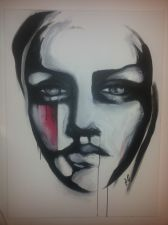 Buy Votre Dame ORIGINAL ACRYLIC ON CANVAS PAINTING