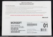 Buy Microsoft Windows Server 2008R2 EE 1-8cpu 25Clt P72-03977