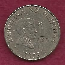 Buy Philippines 1 Peso 1995 Coin