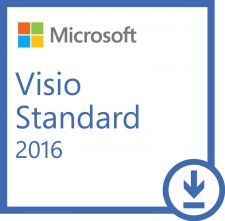 Buy Microsoft Visio Standard 2016 -1 Install (Download Delivery)