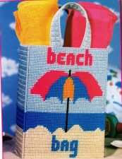 Buy Summer Fun Beach Bag Plastic Canvas PDF Pattern Digital Delivery