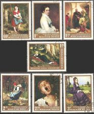Buy Hungary: Paintings (1966), CTO Complete Set