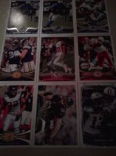 Buy lot 9 football cards