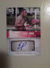 Buy 2012 SAGE HIT #A112 ERIC PAGE AUTHENTIC AUTOGRAPH