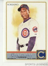 Buy 2011 Allen & Ginter #62 Alfonso Soriano