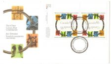 Buy CANADA-2000 FDC ,calling of an engineer, Block 4 stamps