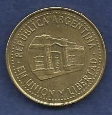 Buy ARGENTINA 50 Centavos 2010 Coin - Tucuman Province Capital